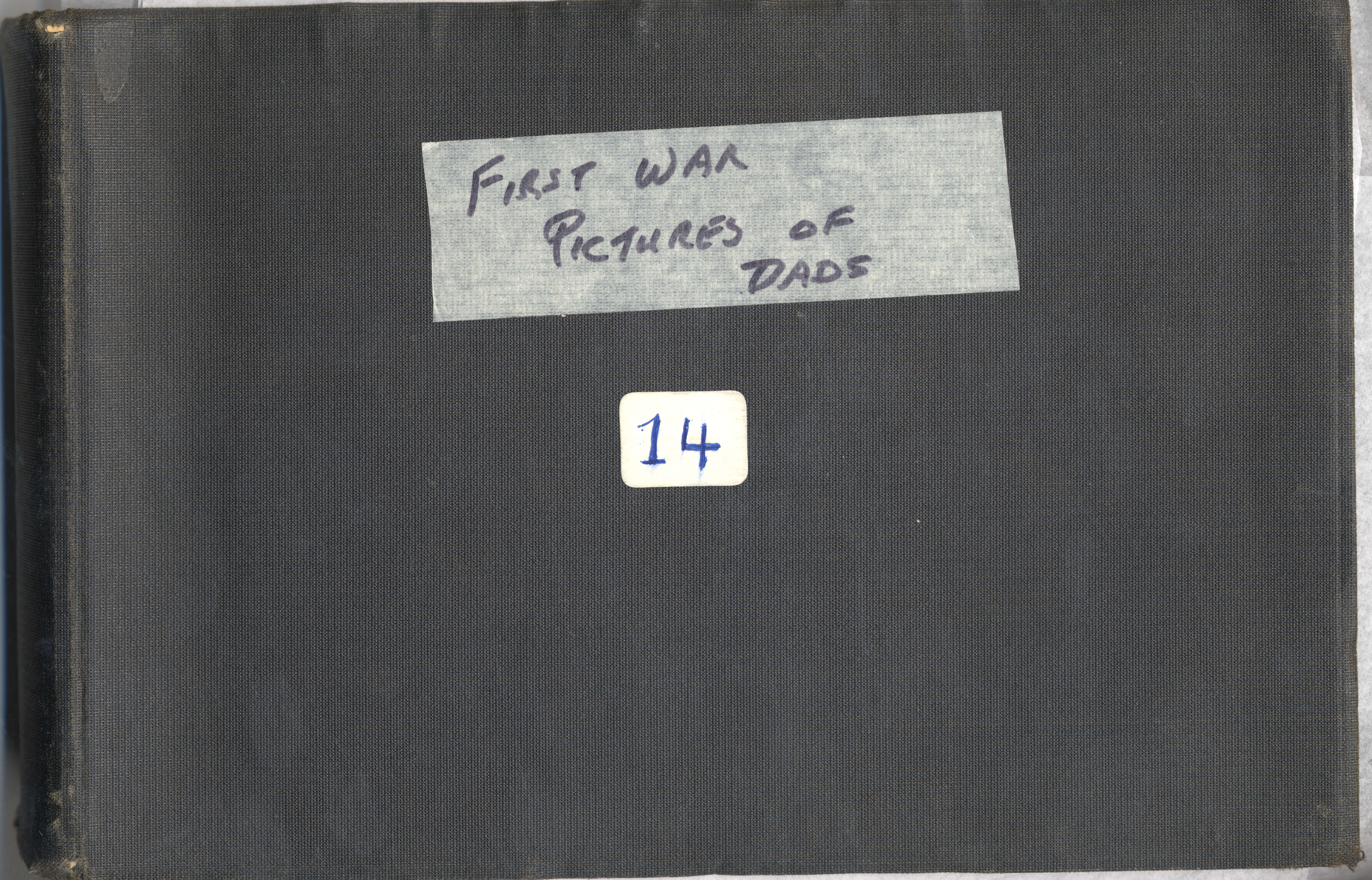 Archie Wills photograph album, appendage to autobiographical chapter ...