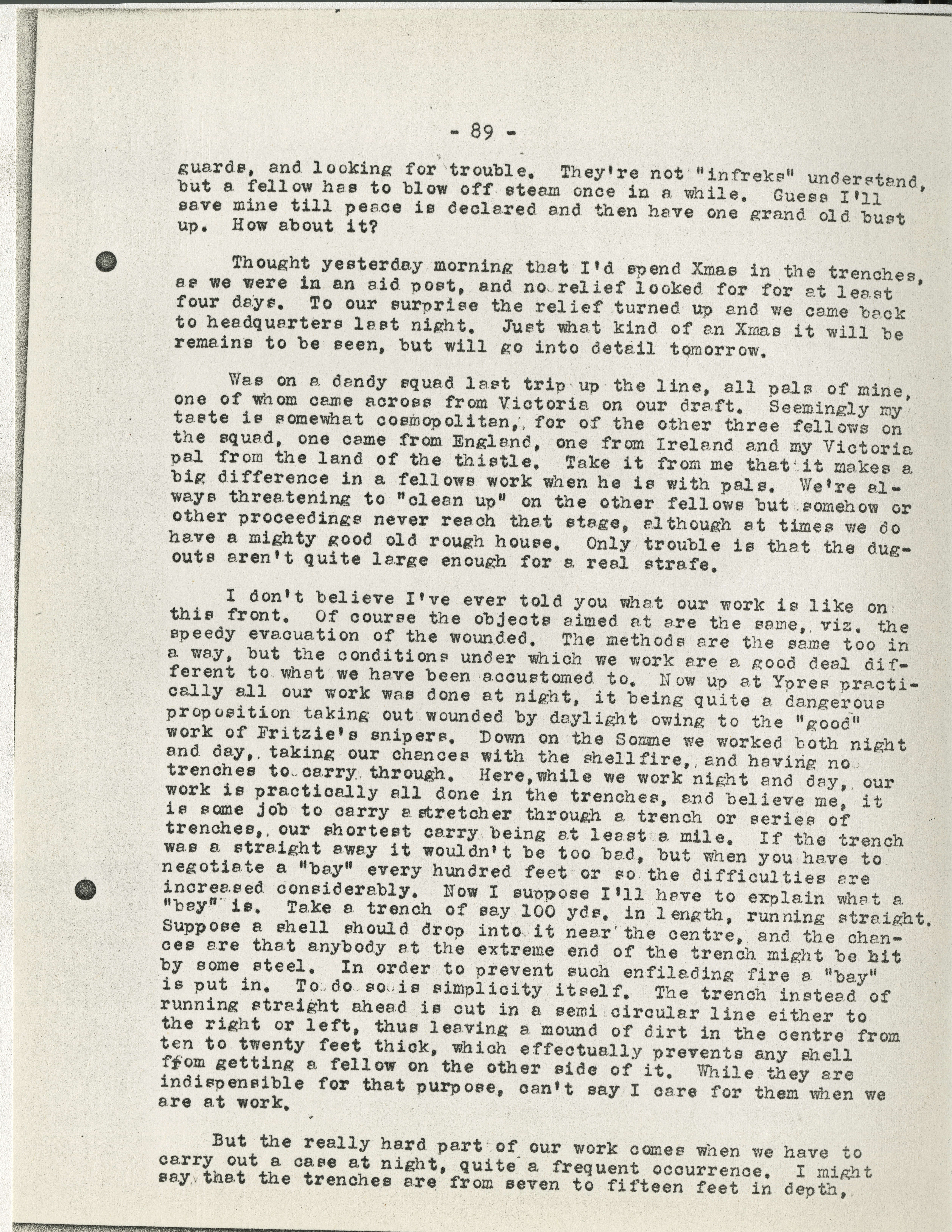 b1f1a25bd5c187 Frederick Carne WWI letters - Victoria to Vimy - UVic Exhibits