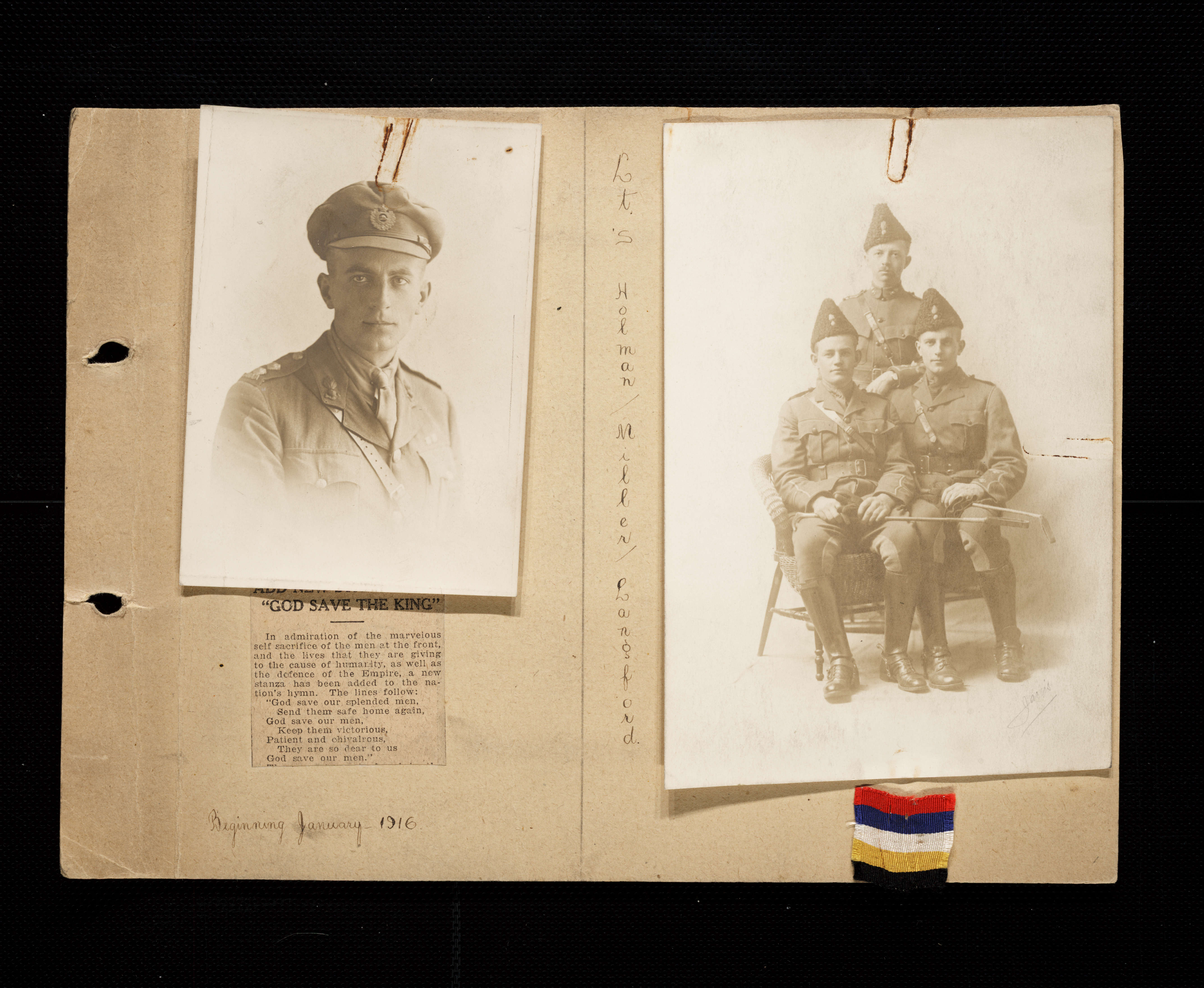 Florence Westman First World War Scrapbook
