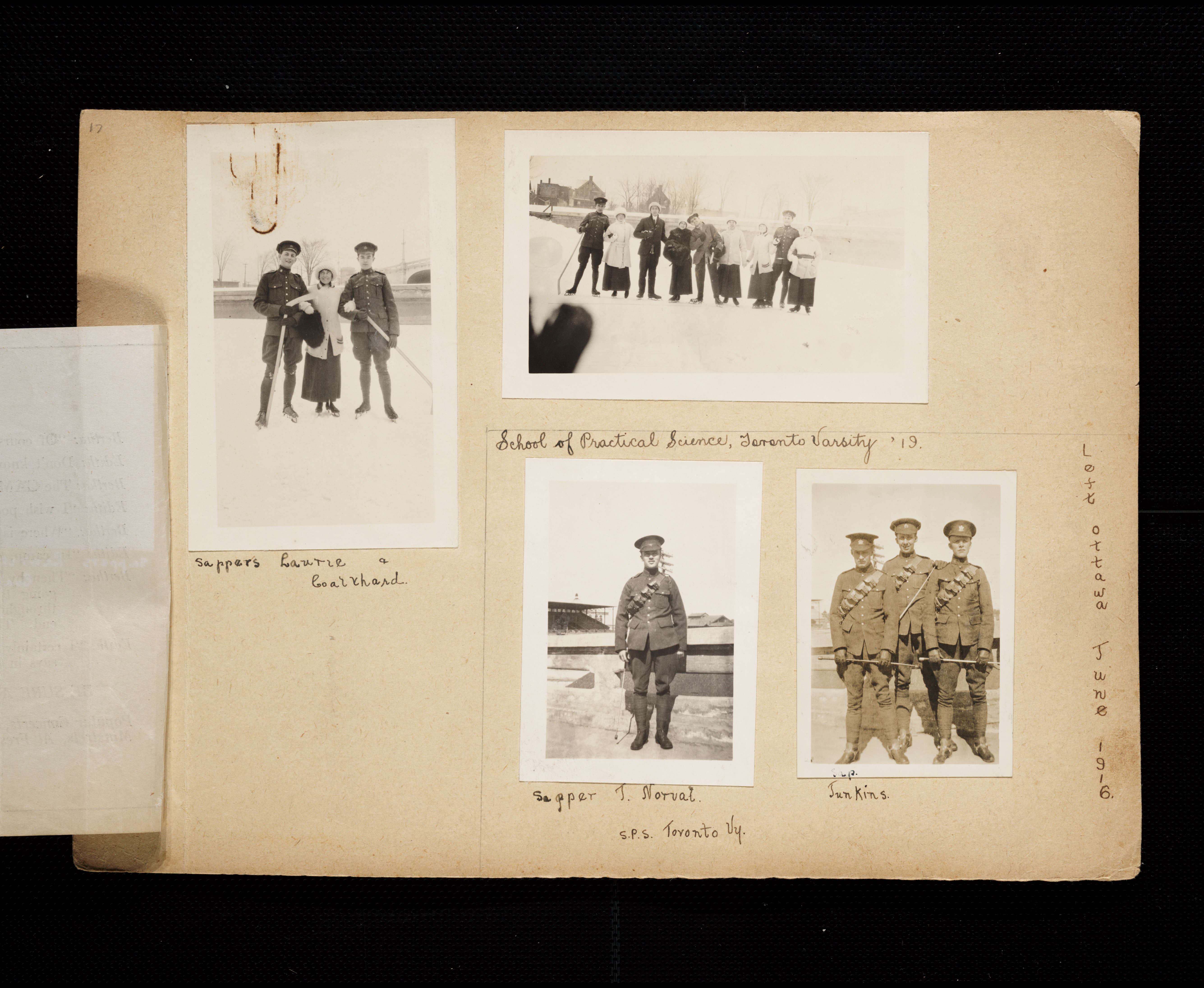 Florence Westman First World War Scrapbook - Victoria to Vimy - UVic ...