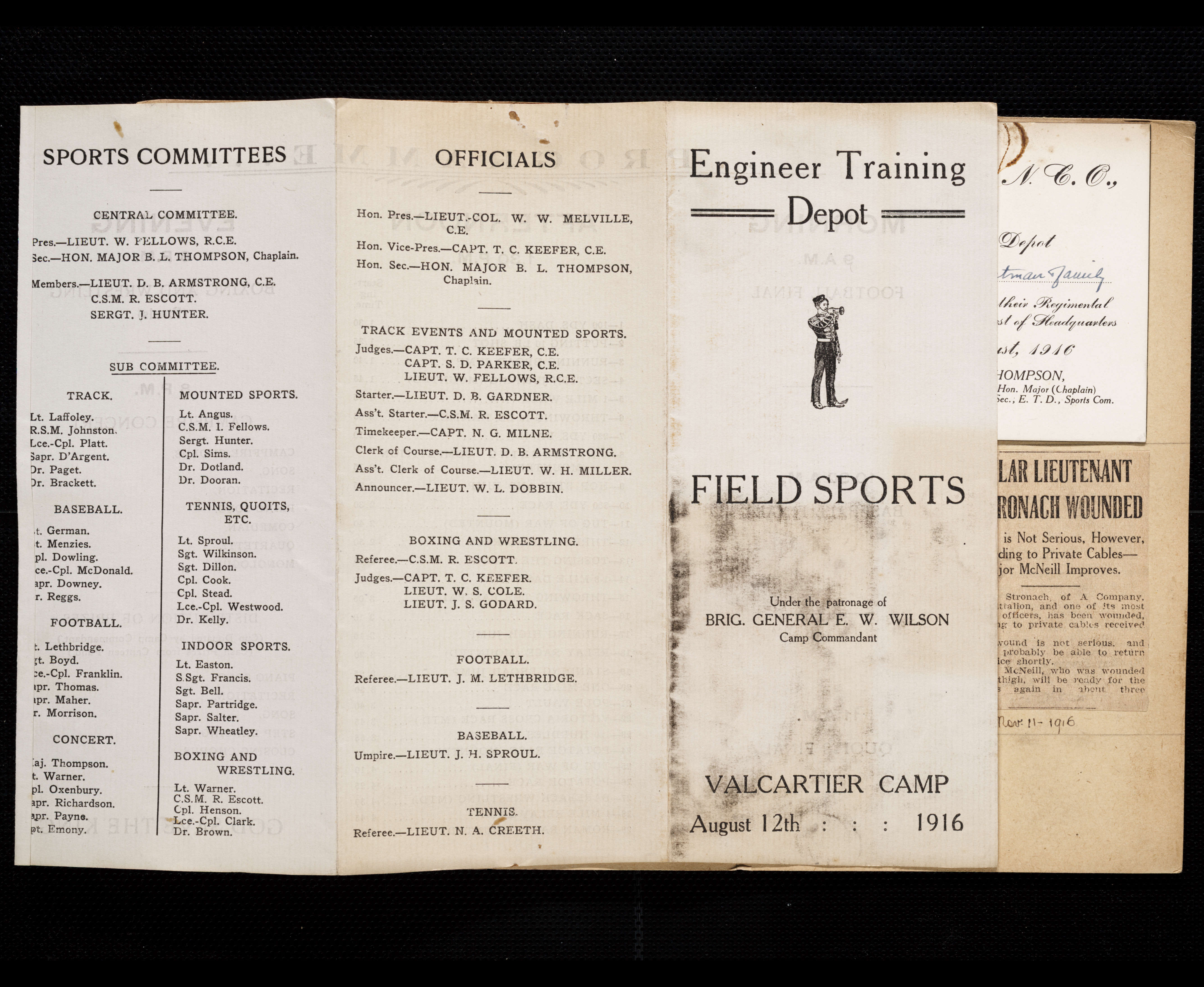 6e75a27123e7 Florence Westman First World War Scrapbook - Victoria to Vimy - UVic ...