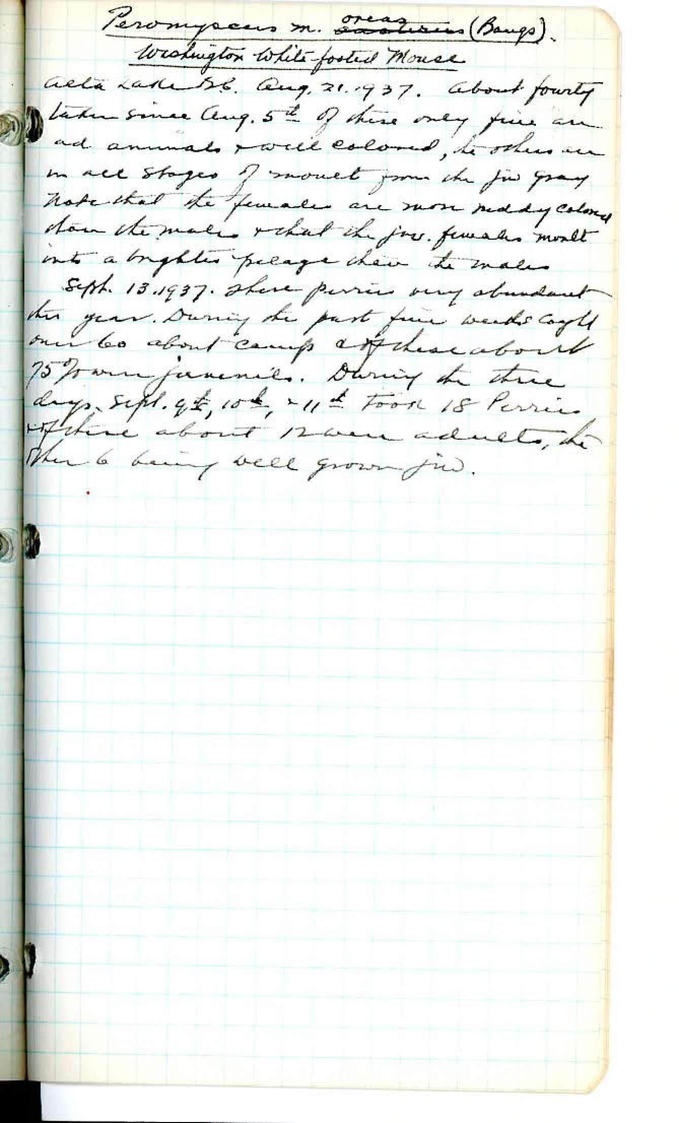 kenneth racey field notes 1924 1938 lulu island sea island