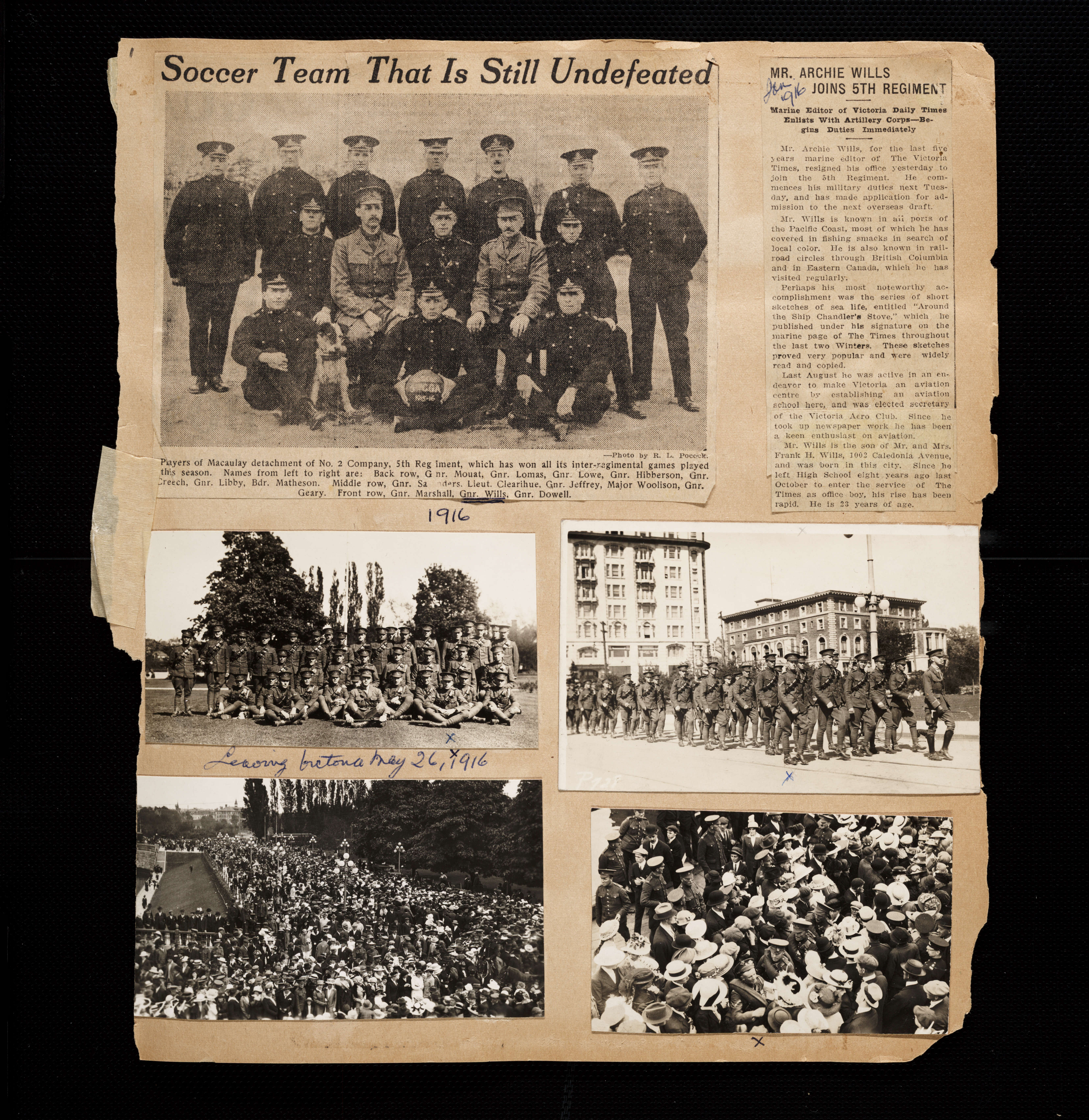 How to scrapbook with newspaper articles - Download Page